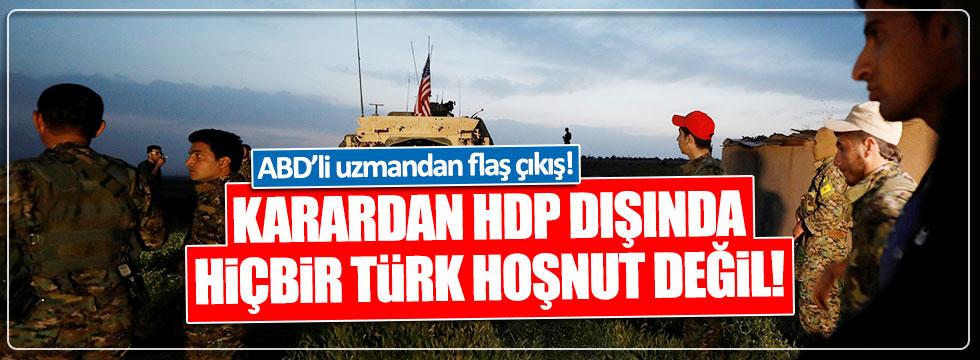 Aaron Stein: HDP dışında hiçbir Türk bu karardan memnun değil