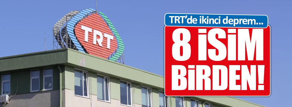TRT'de 8 görevden alma birden