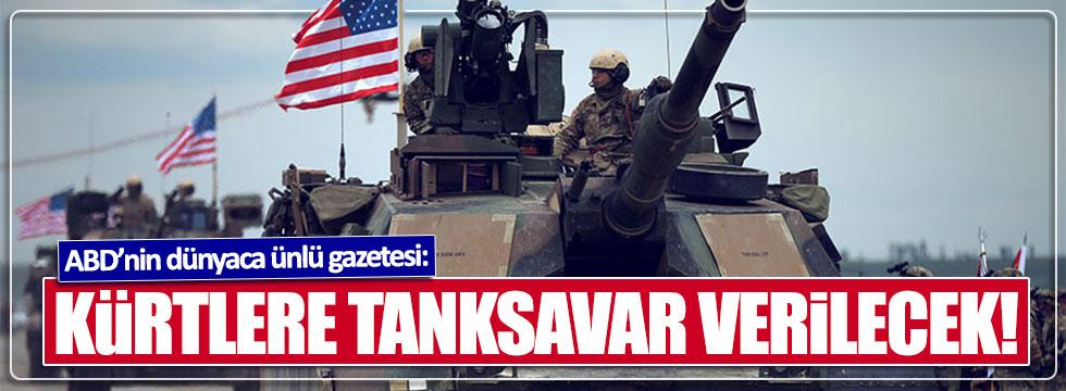 ABD, 'Türk tanklarını vurması için' Suriye'deki Kürtlere tanksavar verecek!