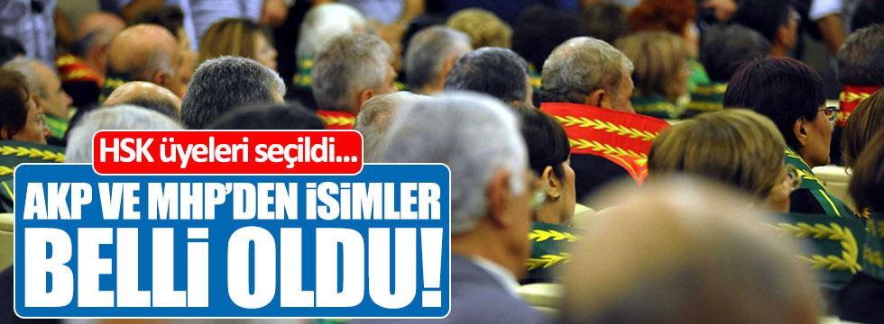 Yargının başına AKP ve MHP'den seçilen isimler belli oldu!
