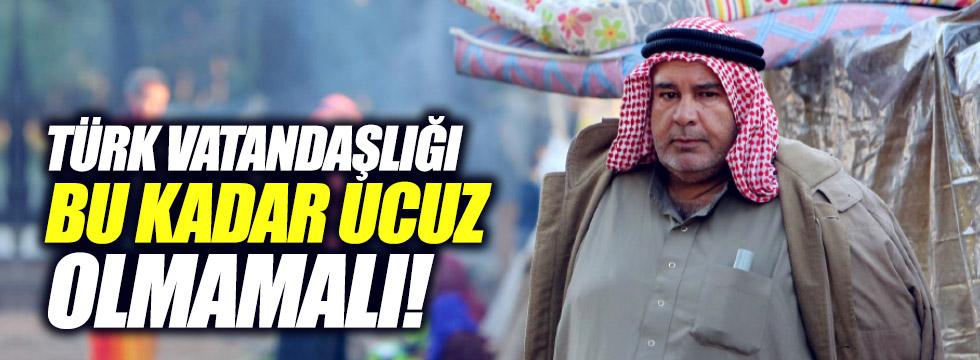 Türk vatandaşlığı bu kadar ucuz olamaz