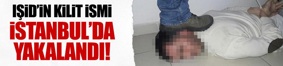 IŞİD'in kilit ismi İstanbul'da yakalandı