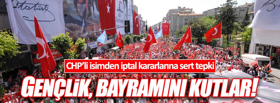 CHP'li Cankurtaran'dan 19 Mayıs tepkisi