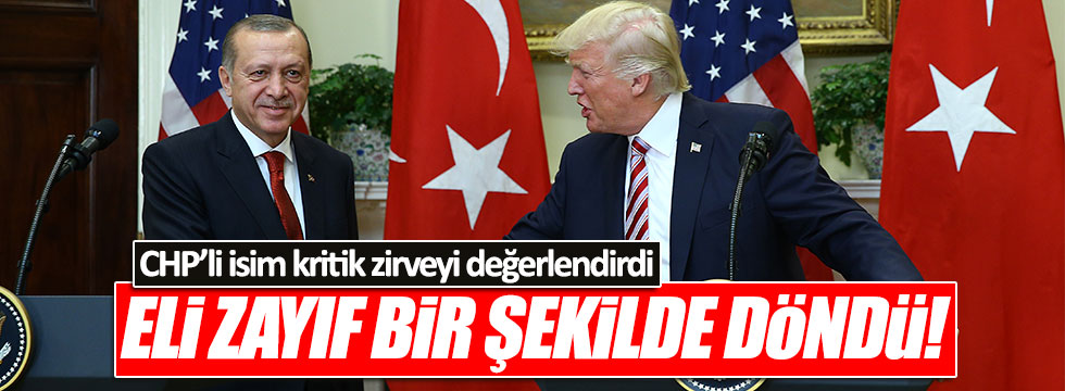 CHP'li Öztürk Yılmaz'dan 'Erdoğan' değerlendirmesi