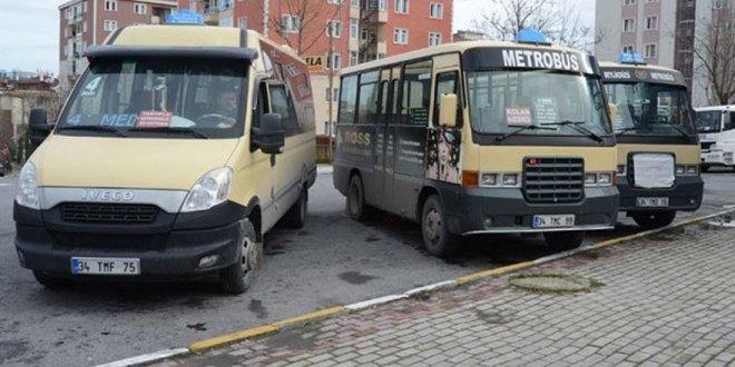 İstanbul'da minibüslere 'gözaltı'