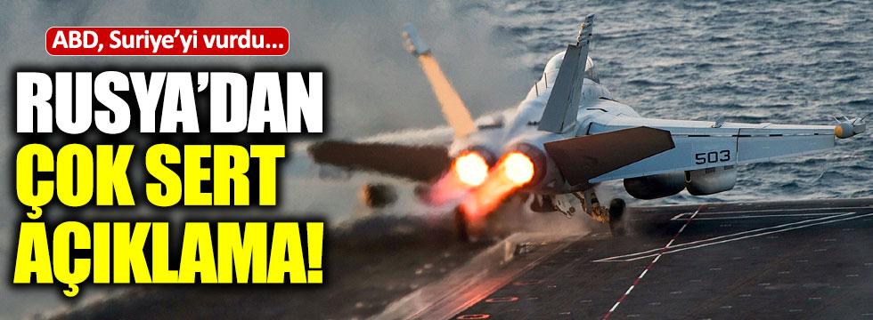 ABD vurdu Rusya'dan açıklama geldi