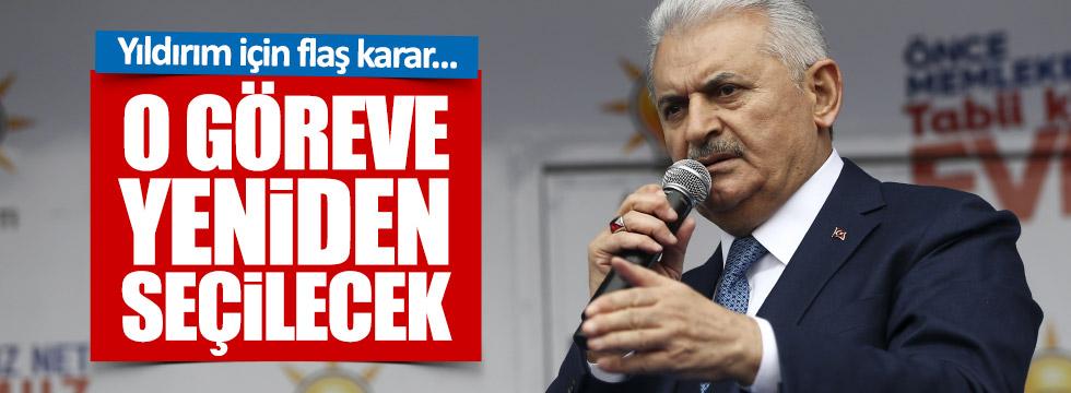 AKP'de Yıldırım hareketliliği