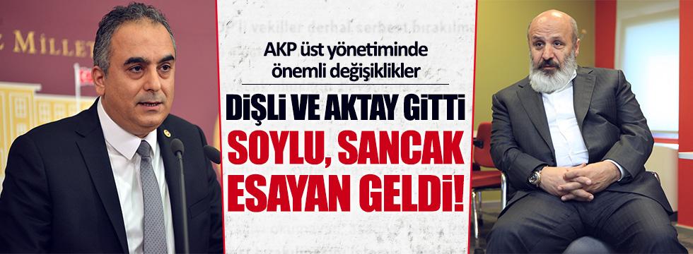 AKP'nin yeni MKYK listesi belli oldu
