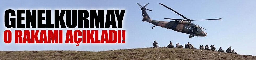 11-21 Mayıs arasında 93 terörist etkisiz hale getirildi