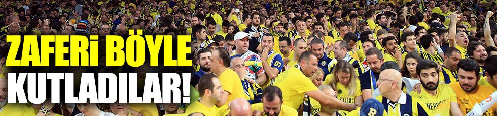 Avrupa Şampiyonluğu da İzmir Marşı ile kutlandı