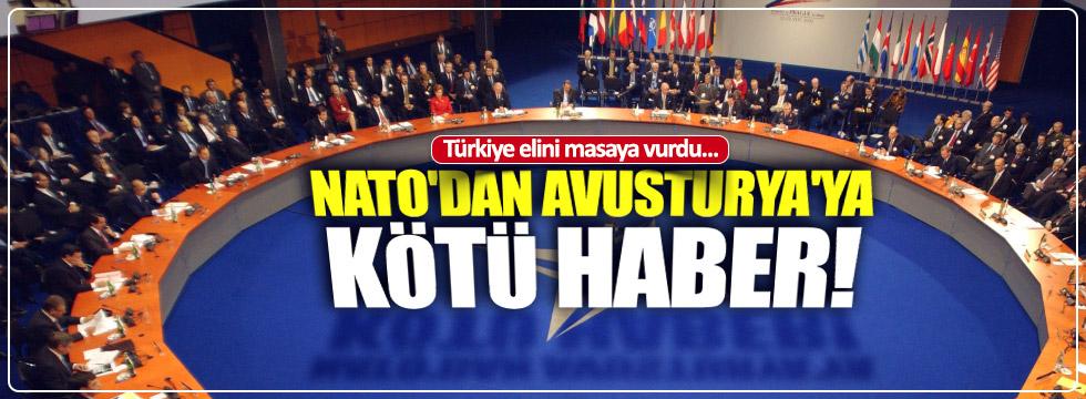 NATO'dan Avusturya kararı: Sebep Türkiye mi?