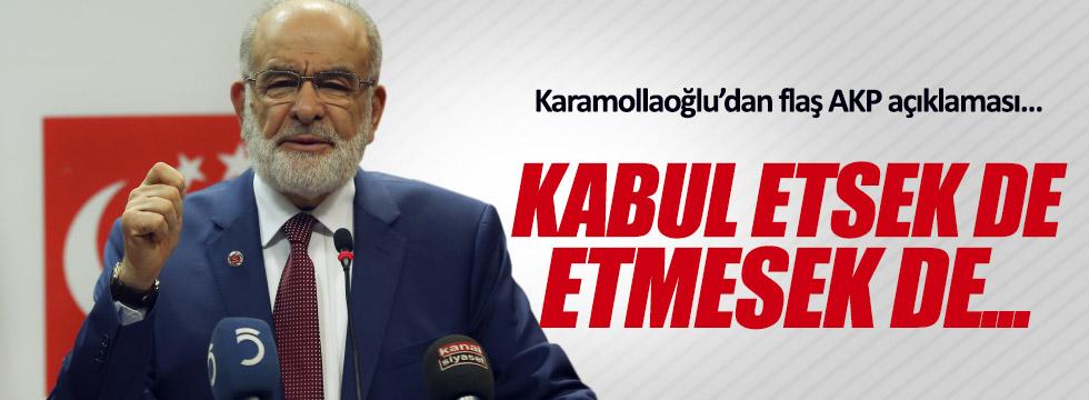 Karamollaoğlu'ndan AKP açıklaması