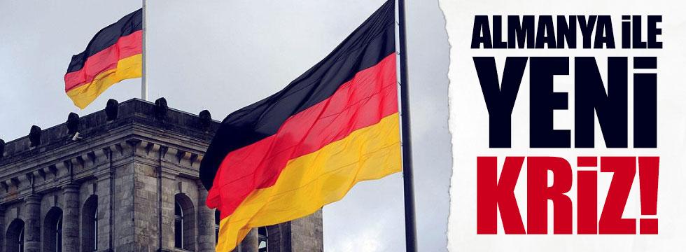 Türkiye-Almanya arasında yeni kriz