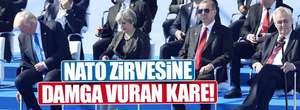 NATO'da zirvesinde dikkat çeken oturma düzeni
