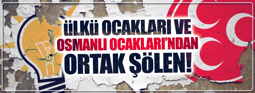 Ülkü Ocakları ve Osmanlı Ocakları beraber etkinlik yapacak!