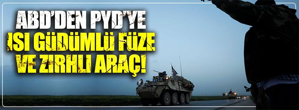 ABD'den YPG'ye ısı güdümlü füze ve zırhlı araç