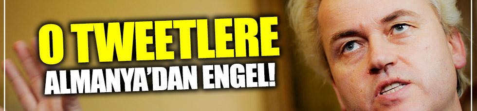 Wilders'e Almanya'dan engel