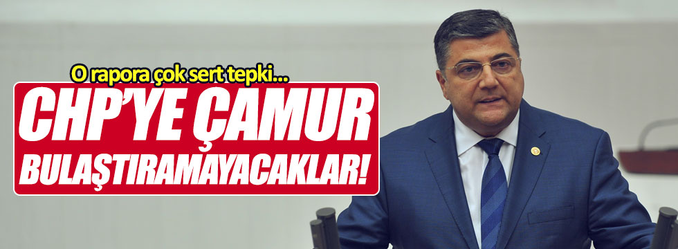 """Sındır: """"CHP'ye çamur bulaştıramayacaklar"""""""