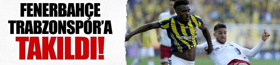 Fenerbahçe 1-1 Trabzonspor (Maç Özeti)