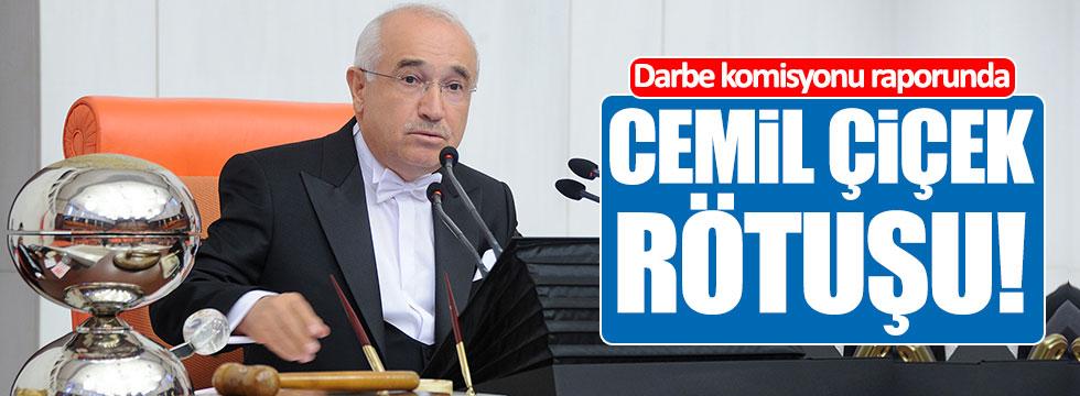 Darbe Komisyonu raporuna Cemil Çiçek rötuşu