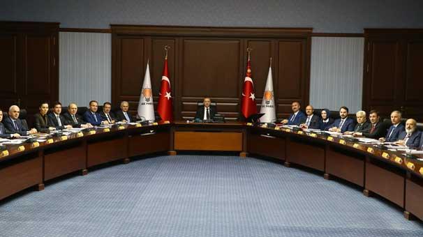 AKP MKYK toplandı