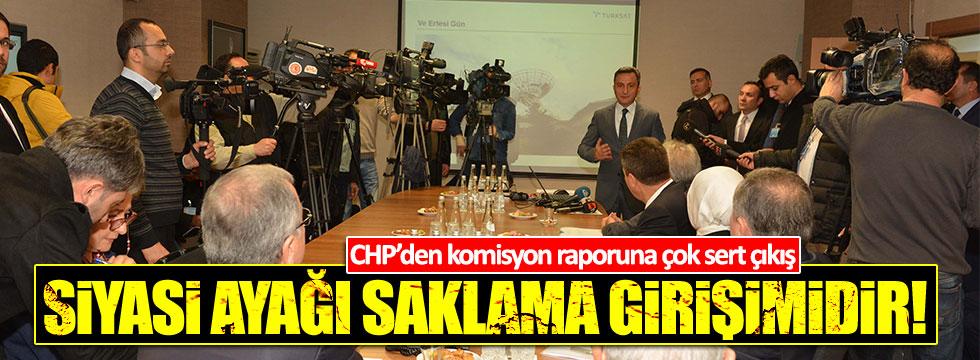 """""""Rapor, FETÖ'nün siyasi ayağını saklamaya yönelik hazırlandı"""""""