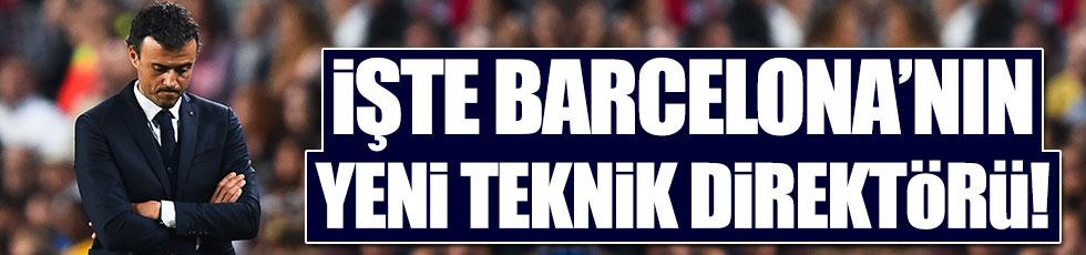 Barcelona'nın yeni teknik direktörü Ernesto Valverde oldu