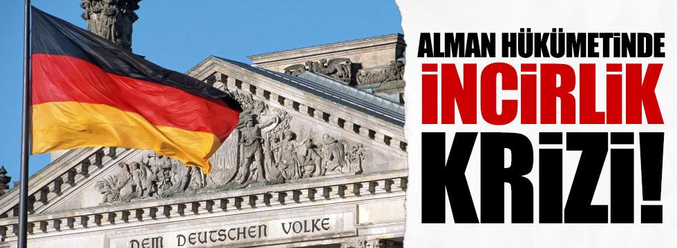 Alman hükümetinde İncirlik krizi