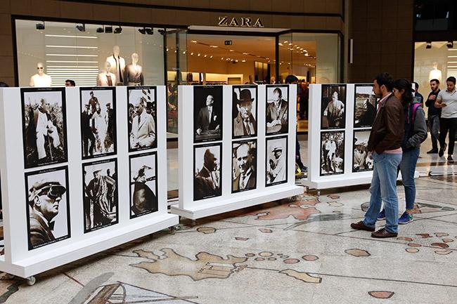 'Çağdaş Atatürk Fotoğrafları' sergilendi