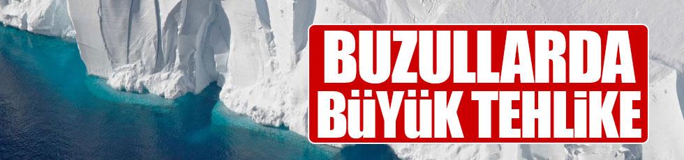 Dev buzul Antartika'dan kopmak üzere