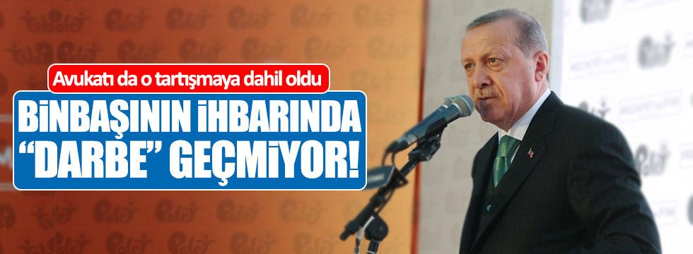 Erdoğan'ın avukatı da o tartışmaya dahil oldu!