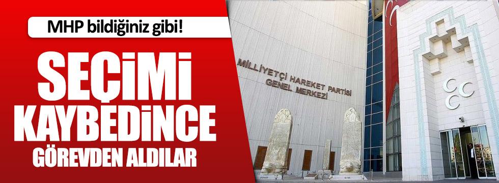 MHP'de kıyım devam ediyor