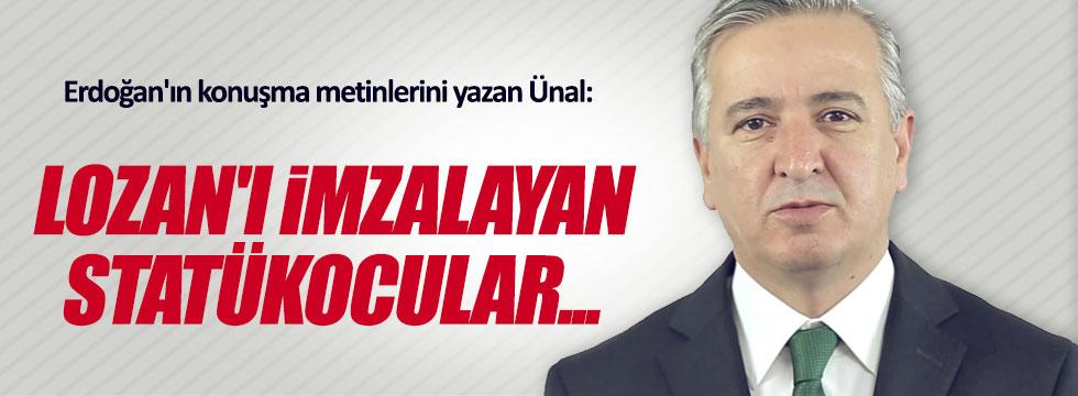 Erdoğan'ın danışmanı Atatürk dönemini eleştirdi.