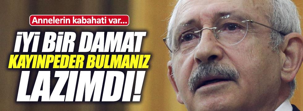 """Kılıçdaroğlu'ndan AKP'ye """"damat"""" eleştirisi"""