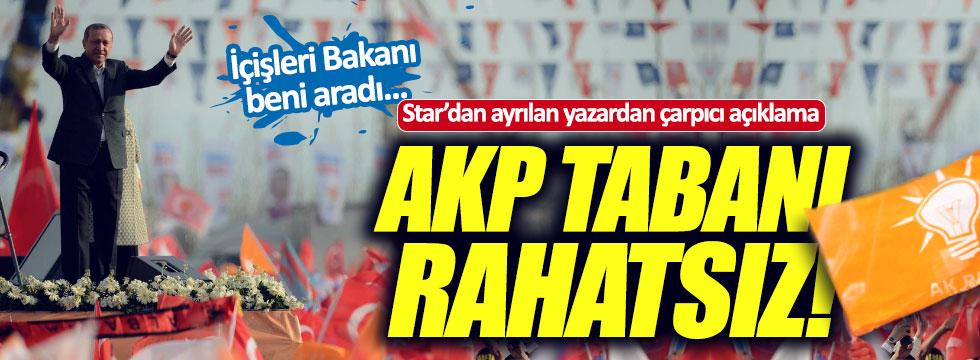 """Oflaz: """"AKP tabanı rahatsız"""""""