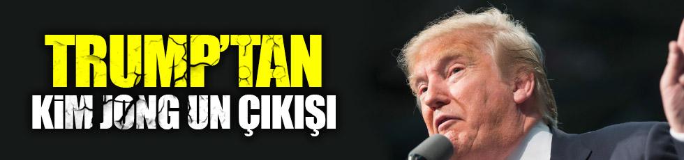 Trump'tan Kuzey Kore çıkışı