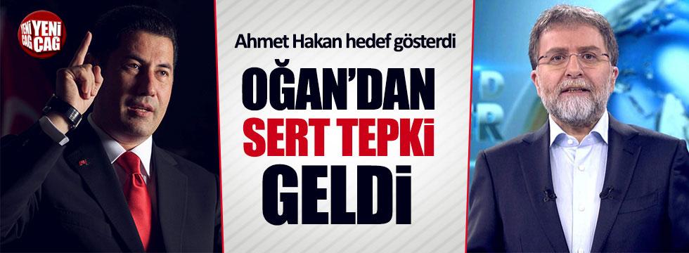 Oğan'dan Ahmet Hakan'a sert yanıt