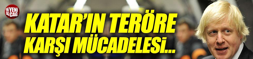 """Boris Johnson: """"Katar'ın teröre karşı mücadelesini..."""""""