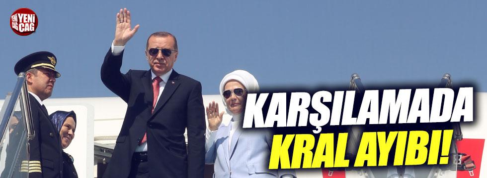 Türkiye'ye Suudi Arabistan'da 'kral' ayıbı