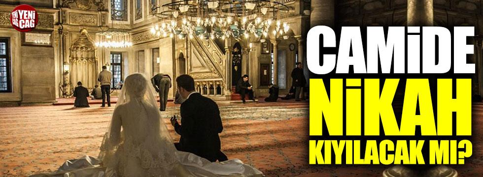 Camide nikah kıyılacak mı? Bozdağ açıkladı...