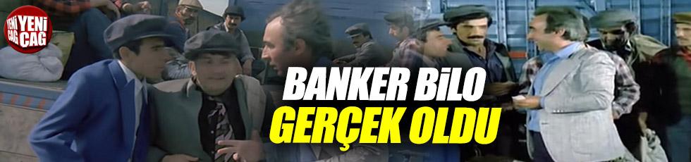 Banker Bilo filmi gerçek oldu