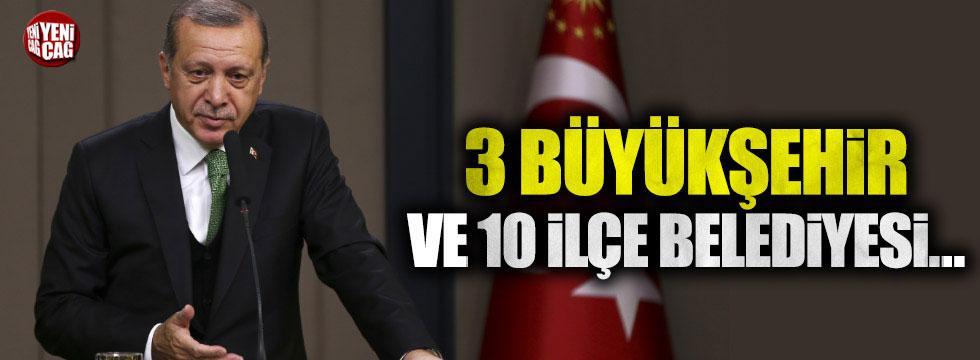 'AKP'de 3 Büyükşehir ve 10 İlçe Belediye Başkanı değişecek' iddiası