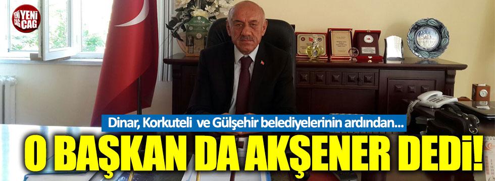 MHP'li Ağın Belediye Başkanı Serttaş istifa etti!