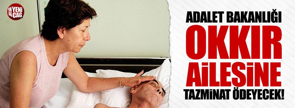 Adalet Bakanlığı Kuddusi Okkır'ın ailesine 95.000 euro tazminat ödeyecek!