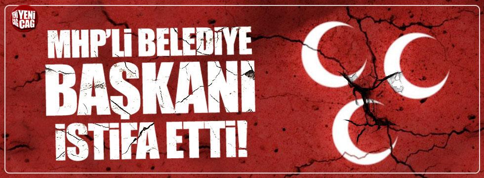 MHP'li Belediye Başkanı Ünal Çetin istifa etti