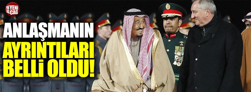 Rusya'nın, Suudi Arabistan ile imzaladığı anlaşmaların ayrıntıları belli oldu