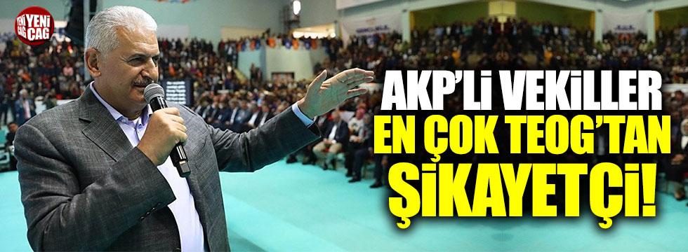 AKP'li vekiller en çok TEOG'tan şikayetçi!