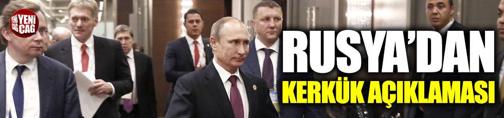 Rusya'dan Kerkük açıklaması
