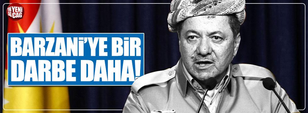 Barzani'ye petrol darbesi