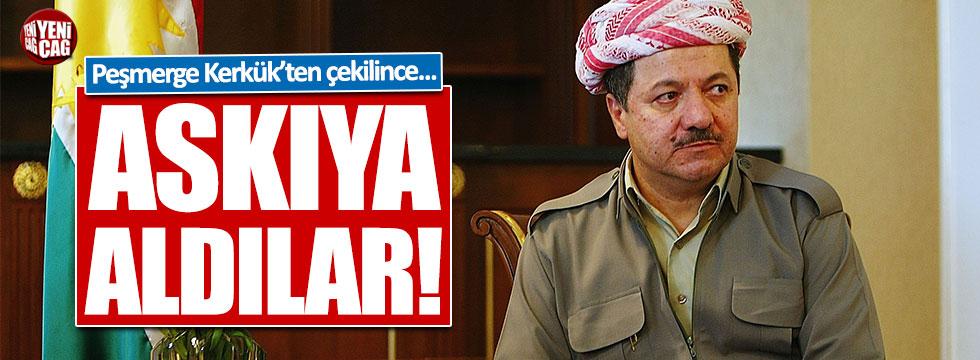 Barzani seçimleri askıya aldı